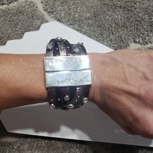 Brighton Thea Harlow Metallic Cuff Bracelet